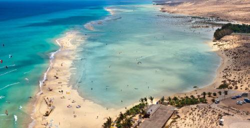 Kitesurfing Hiszpania Fuerteventura