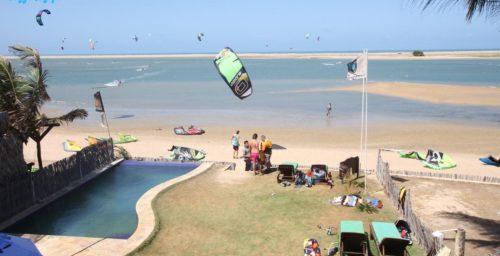 Kitesurfing Brazylia Ilha de Guajiru
