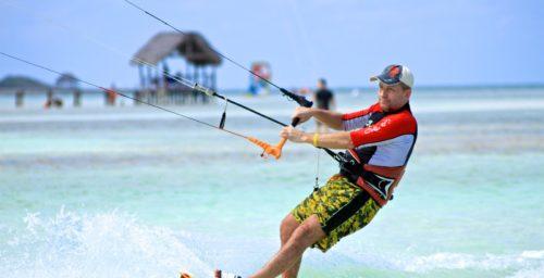 Kitesurfing Kuba