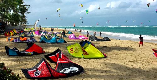 Kitesurfing Dominikana